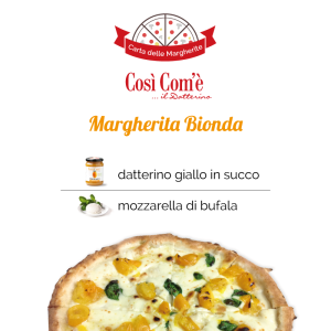 Così Com'è social card facebook - pizza