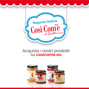 Così Com'è social card facebook e-commerce